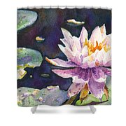 Butchart's Lily Shower Curtain