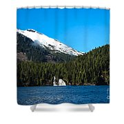 Butedale Falls Shower Curtain