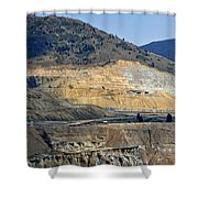 Butte Berkeley Pit Mine Shower Curtain