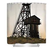 Butte Montana Shower Curtain