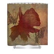 Butterflower Shower Curtain
