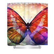 Butterfly 14-1 Shower Curtain