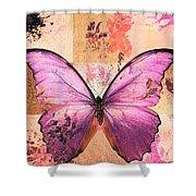 Butterfly Art - Sr51a Shower Curtain