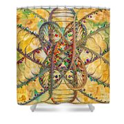 Butterfly Concept Shower Curtain