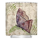 Butterfly Daydreams-b Shower Curtain