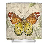 Butterfly Daydreams-c Shower Curtain