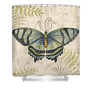 Butterfly Daydreams-d Shower Curtain