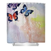 Butterfly Dream Shower Curtain