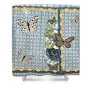 Butterfly Dreamland Shower Curtain