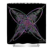 Butterfly Emerging  Shower Curtain
