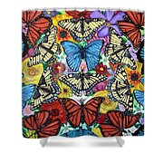 Butterfly Haven Shower Curtain