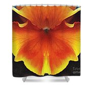 Butterfly Impression Shower Curtain