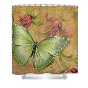 Butterfly Inspirations-a Shower Curtain
