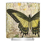Butterfly Kisses-c Shower Curtain