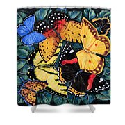 Butterfly Kisses Shower Curtain