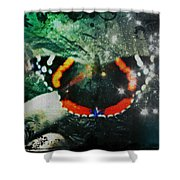 Butterfly Magick Shower Curtain