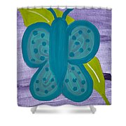 Butterfly Shower Curtain by Melissa Dawn