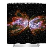 Butterfly Nebula Ngc6302 Shower Curtain