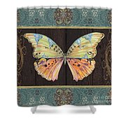 Butterfly Tapsetry-jp2197 Shower Curtain