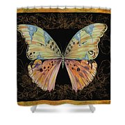 Butterfly Treasure-sofia Shower Curtain