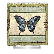 Butterfly Trio-3 Shower Curtain