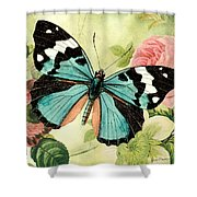 Butterfly Visions-b Shower Curtain
