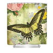 Butterfly Visions-d Shower Curtain