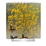 Butterfly's Paradise Shower Curtain