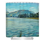 Buttermere Haystacks And Beyond Shower Curtain