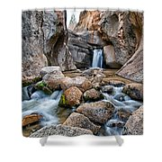 Buttermilks Waterfall Shower Curtain