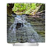 Butternut Falls Shower Curtain by Frozen in Time Fine Art Photography
