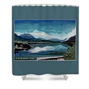 Buttle Lake Shower Curtain