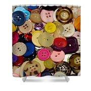 Buttons 670 Shower Curtain
