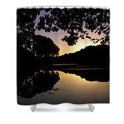 Buttonwood Sunset Shower Curtain