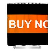 Buy Now Orange Shower Curtain