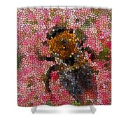 Buzzing Bumblebee Shower Curtain