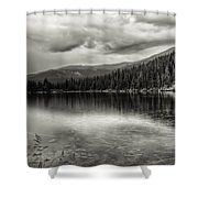 Bw Bear Lake Shower Curtain