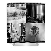 Bw Montage 01 Shower Curtain