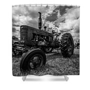 Bwcday4 Tractors Shower Curtain