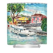By A French Canal 02 Shower Curtain