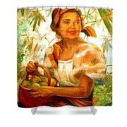by Amorsolo Shower Curtain