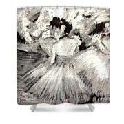By Degas Shower Curtain