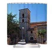 By The Church - Veroli Shower Curtain