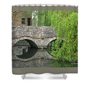 By The Old Mill Stream Shower Curtain