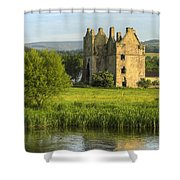By The River Suir Shower Curtain
