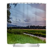 By The Stream Shower Curtain