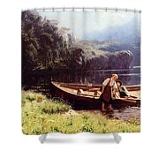 By The Waters Edge Shower Curtain