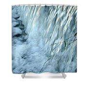 By The Weir Dam Shower Curtain