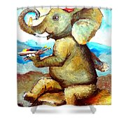 By Tom Kidd Shower Curtain