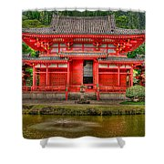 Bydo-in Temple 2 Shower Curtain